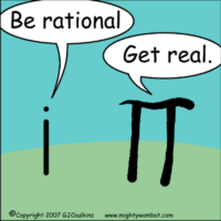 rational vs. real